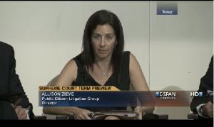McCutcheon v. FEC video clip from C-SPAN