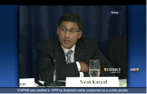 Neal Katyal, former Solicitor General and pro bono attorney for the defendant, Scott Cheever.